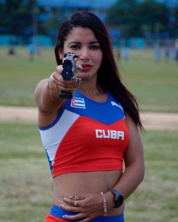 """Leydi Laura: La mujer de """"hierro"""" del deporte cubano"""