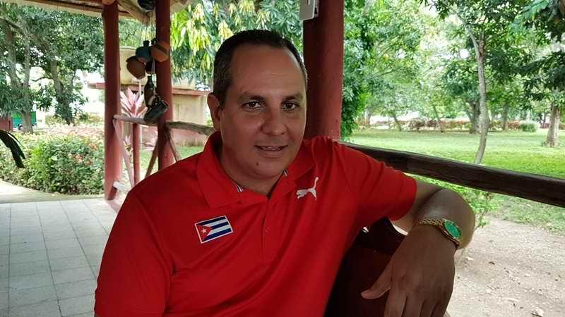 Director provincial de Deportes en Camagüey, Mario Núñez Caballero