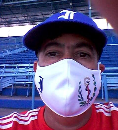 Médico del equipo de Industriales, Michel Fuentes Batista
