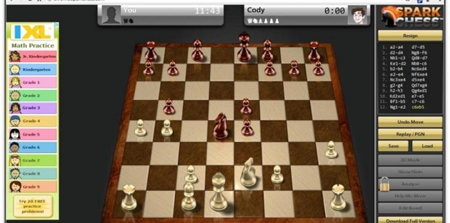 Anuncia Cuba topes de ajedrez online
