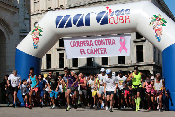 Pospuesta carrera contra el cáncer en Cuba
