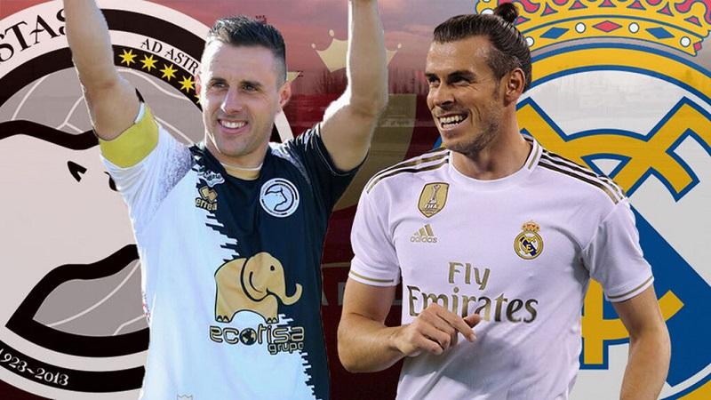 Venció Real Madrid 3-1 a Unionistas en Copa del Rey