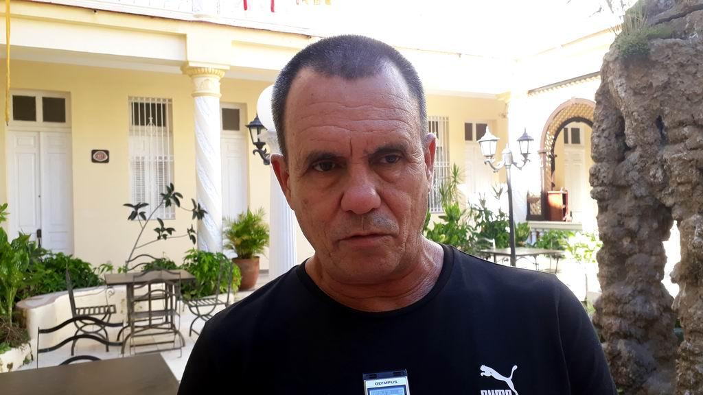 Jefe del Colectivo Técnico de los Domadores, Rolando Acebal