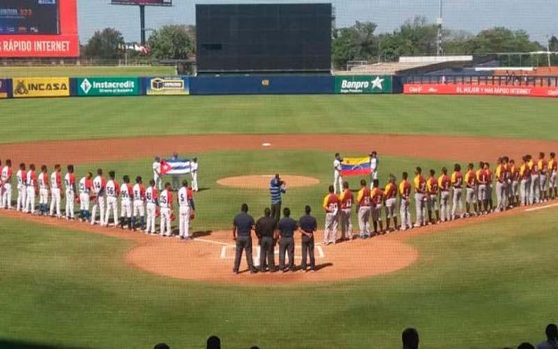 Venció Cuba a Venezuela 5-0 en su debut de la Super Ronda Premundial sub-23