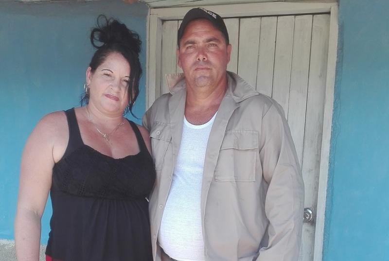 Adalberto Martínez Ramírez, y de su esposa Gisel Ortega