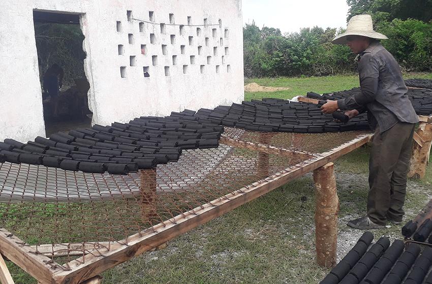 Briquetas de carbón, aporte económico desde Las Tunas (+Audio)