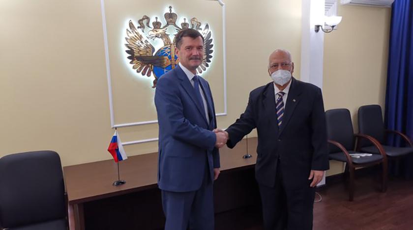 Intensa agenda de Viceprimer ministro cubano en Rusia