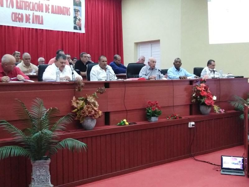 Presidió Machado Ventura asamblea de la ANAP en Ciego de Ávila