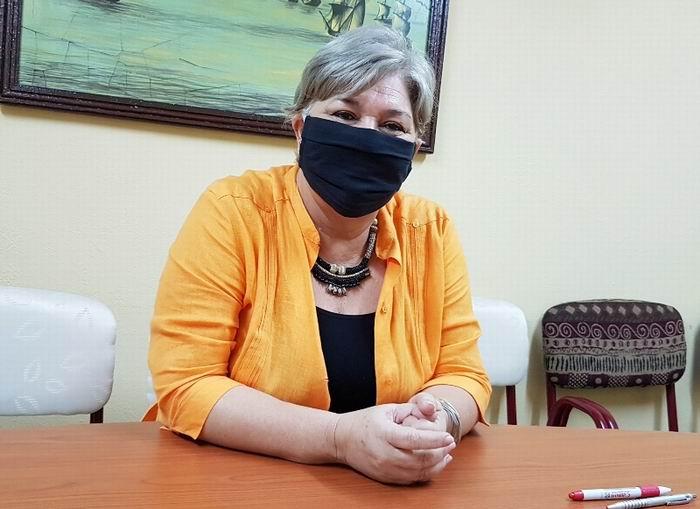 Subdelegada de Cubanacán, María Gema Suárez.