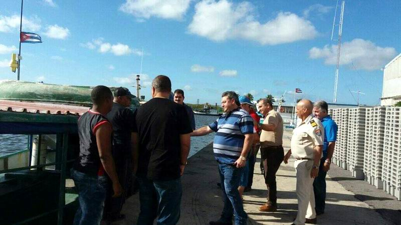 Exhorta Ministro cubano a producir más en industria pesquera de Pinar del Río