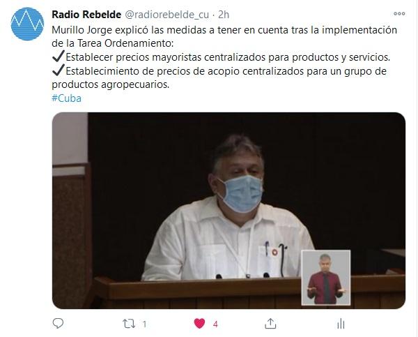 Protección a las familias vulnerables. Prioridad del ordenamiento monetario en Cuba