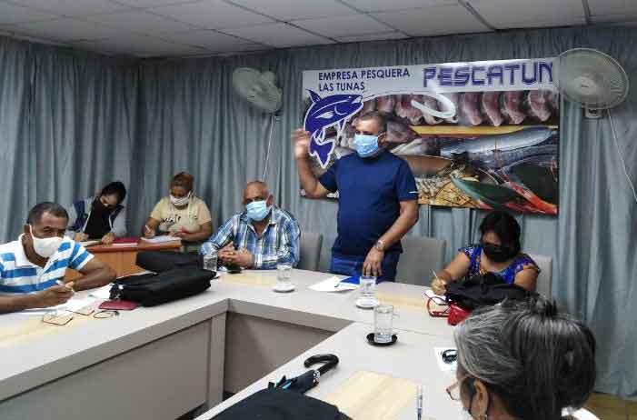 Evalúan oportunidades de proyectos para la exportación pescadores tuneros (+Audio)