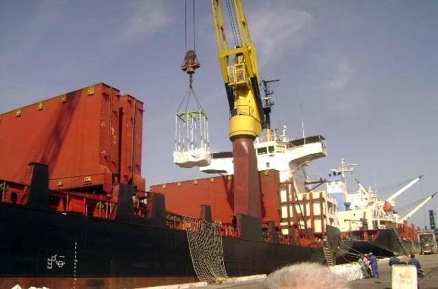 Sobrecumple Puerto de Cienfuegos manipulación de mercancías