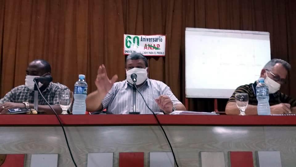 Presidente de la ANAP, Rafael Santiesteban. Foto: Camilo González