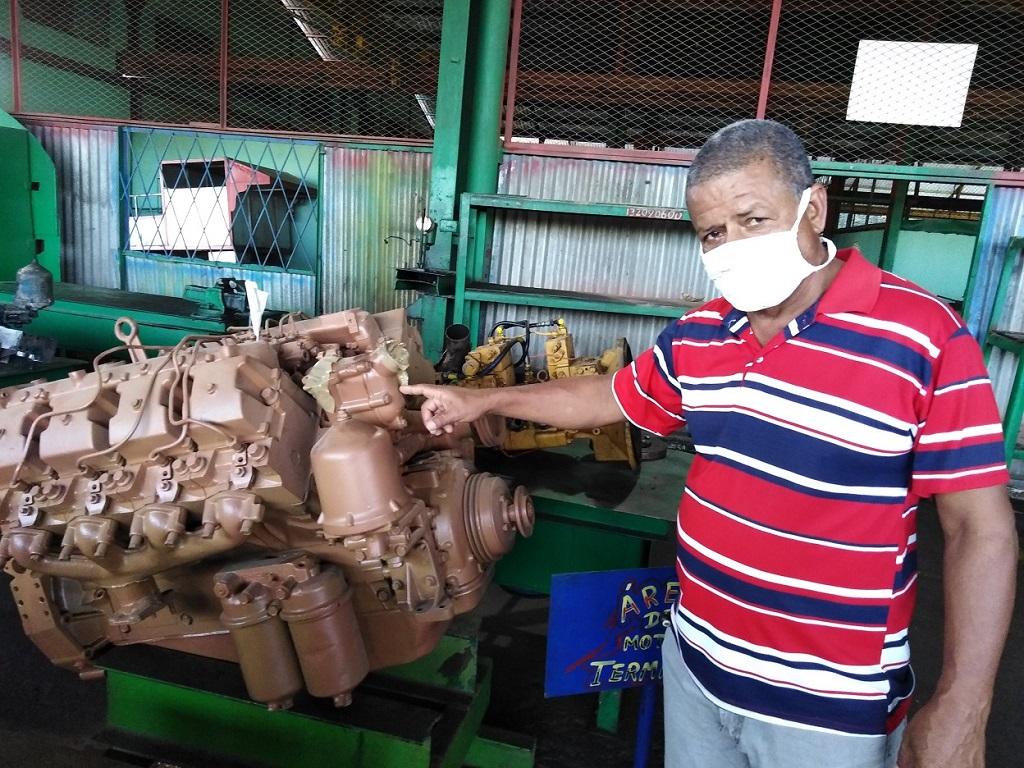 Decisivo aporte de los trabajadores de Talleres 14 de junio para la arrancada de la zafra