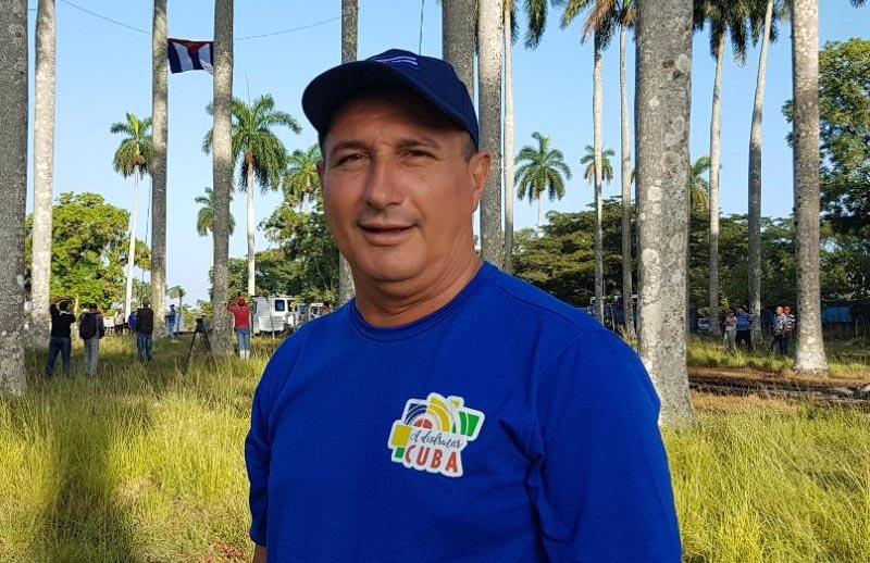 Sub-delegado de la Agricultura, Julio Alberto Velázquez.
