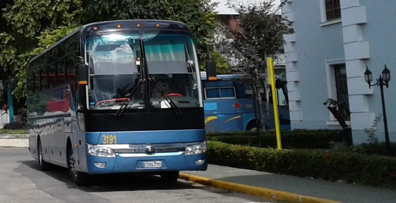 Reanudan parcialmente servicios de transportación interprovincial (+Audio)