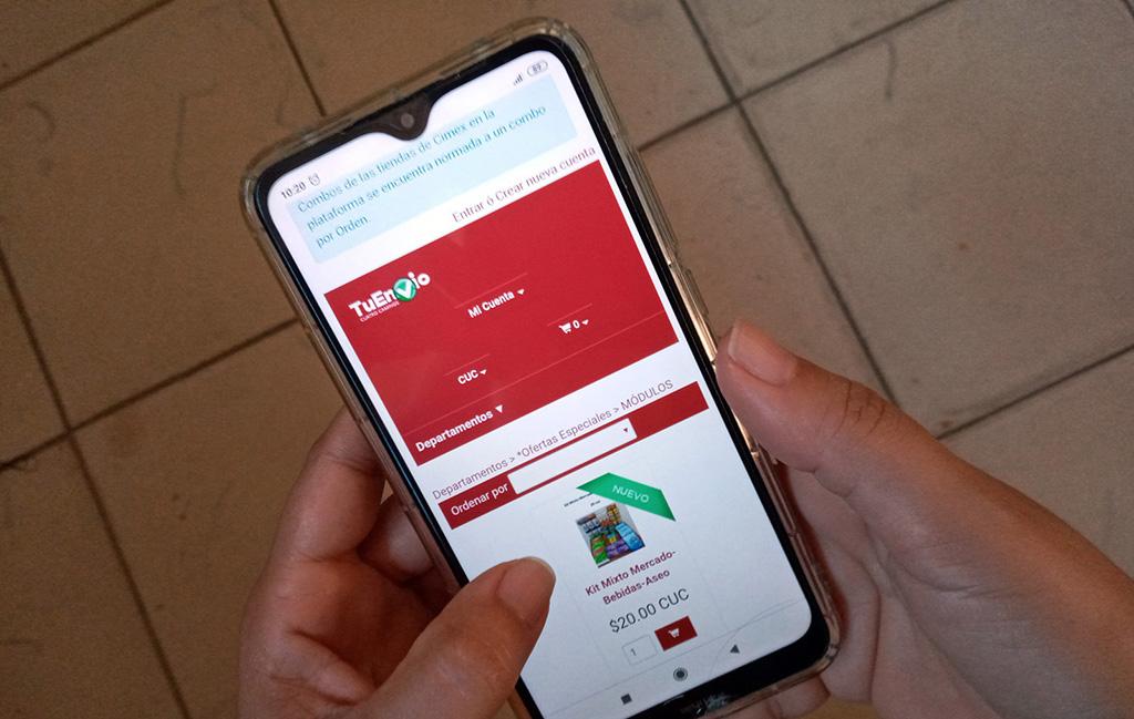 Anuncia CIMEX apertura de nueva tienda virtual TuEnvío Habana