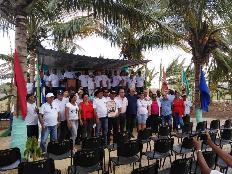 Vanguardia Nacional para el Colectivo de Tecnoazúcar Pedro Plaza Fernández