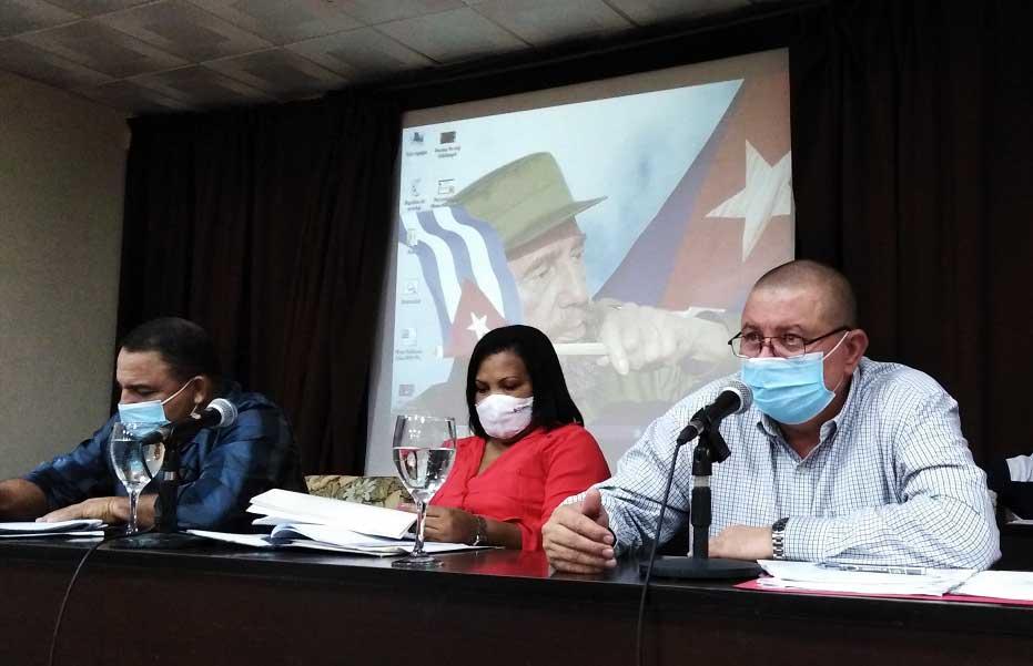 El Primer Secretario del PCC en Las Tunas, Manuel René Pérez Gallego, sostuvo que pese a los impactos negativos del Bloqueo y del SARS-CoV-2 el territorio está en mejores condiciones para desarrollar la contienda