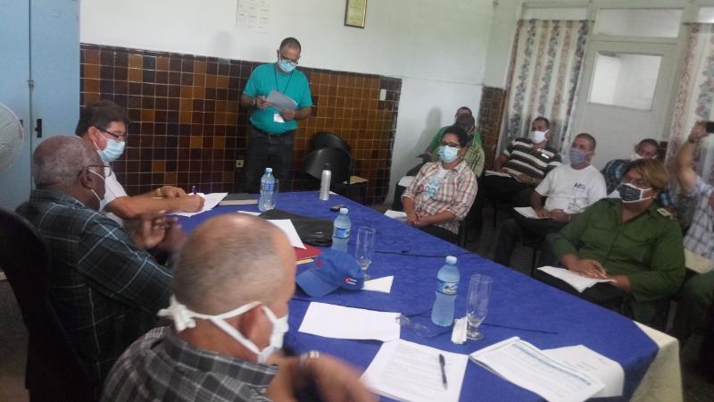 Constata Valdés Mesa preparativos de la zafra en Artemisa