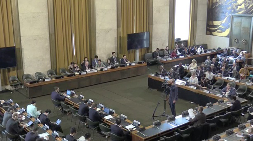 Conference on Disarmament started with Cuba as coordinator of the G-21