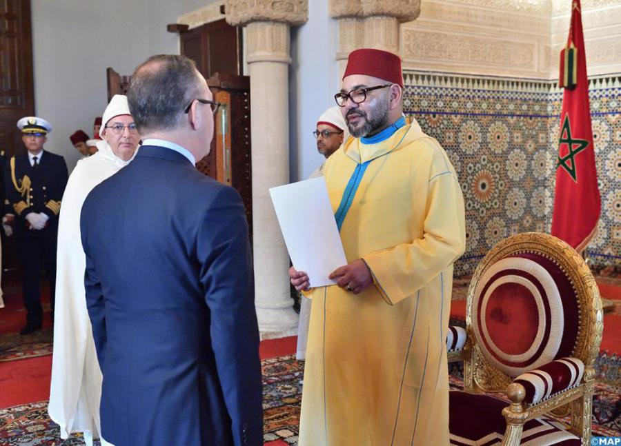 King of Morocco receives credentials from Cuban ambassador
