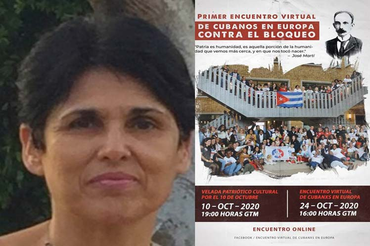 Cuban residents in Europe to condemn US blockade at virtual forum