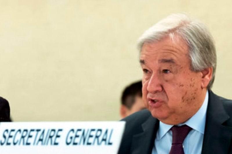 Llama Antonio Guterres en Ginebra a defender los derechos humanos