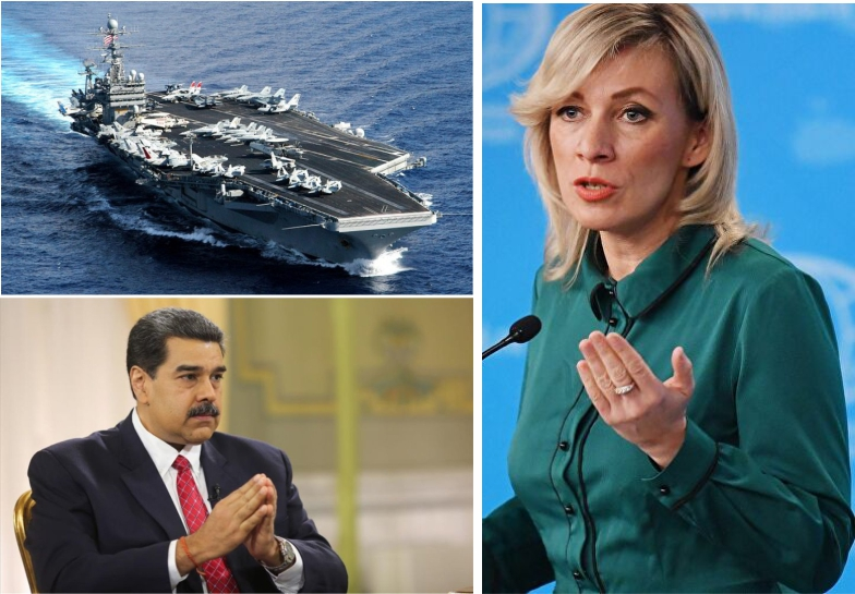 Advierte Rusia que Estados Unidos podría intentar un bloqueo naval contra Venezuela