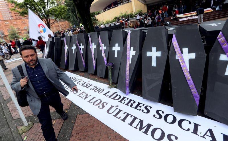 Los asesinatos de líderes sociales en Colombia