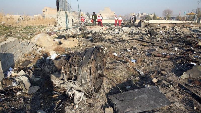 Acuerdan Irán y Ucrania realizar una investigación precisa del accidente aéreo