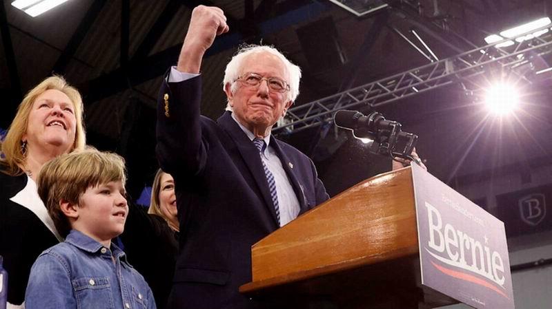 El demócrata Bernie Sanders gana primarias de New Hampshire