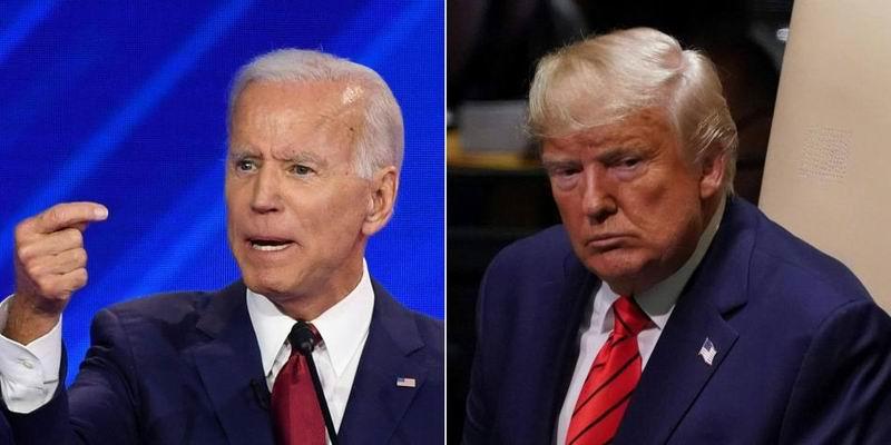 Aventaja Biden a Trump en carrera por la presidencia de EEUU