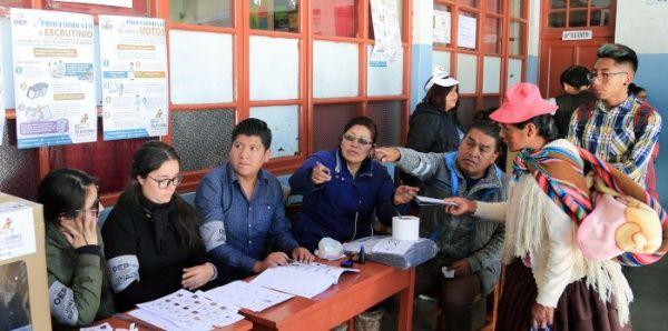 Bolivia en campaña electoral