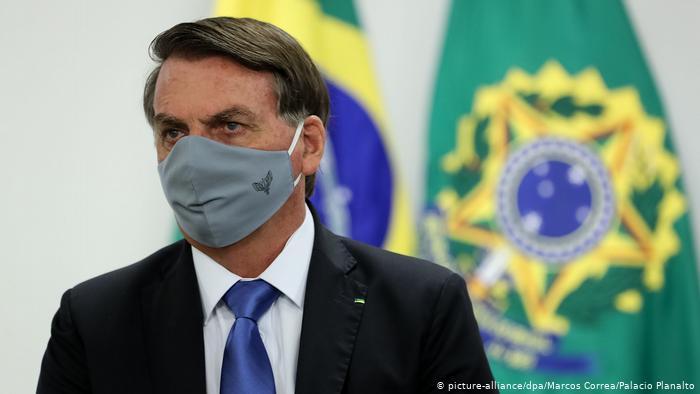 Bolsonaro con síntomas del nuevo coronavirus