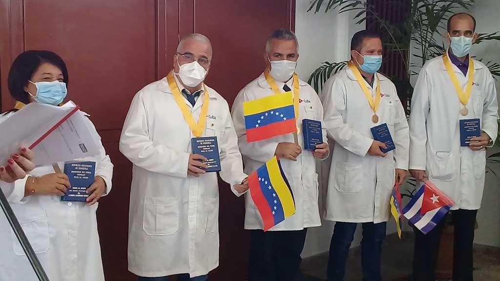 Concluyen misión en Venezuela brigadistas de la Henry Reeve (+ Audio y Videos)
