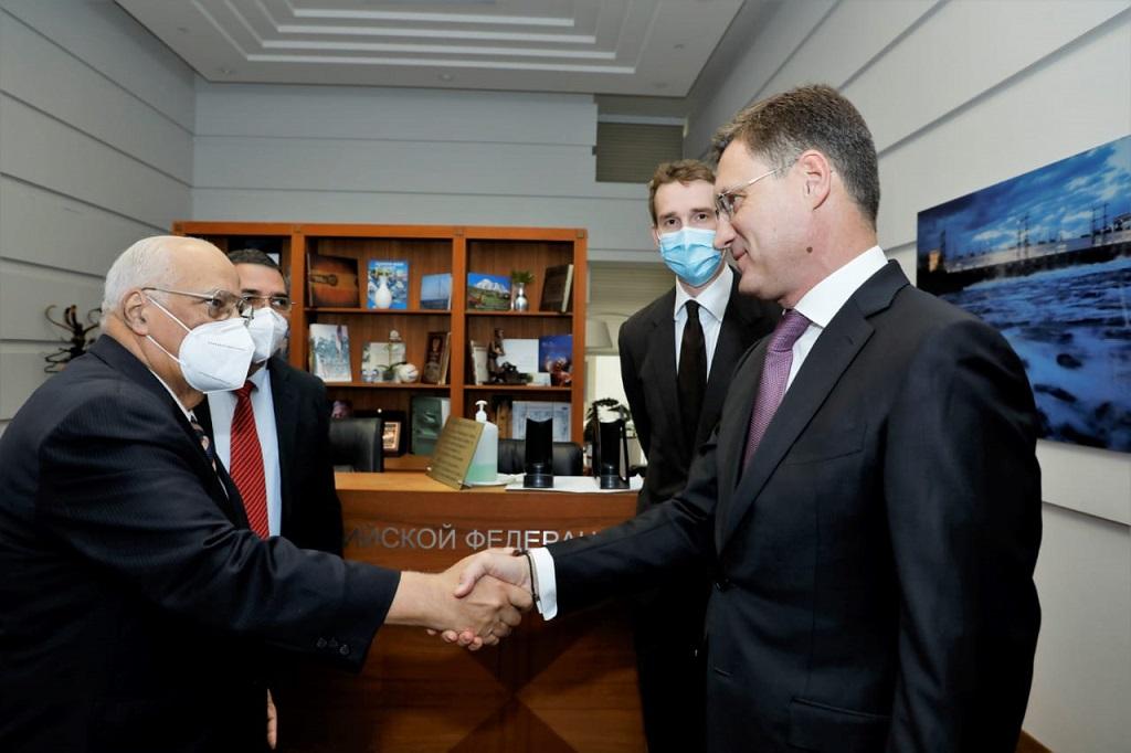 Fructíferos intercambios entre viceprimer ministro Cabrisas y autoridades rusas