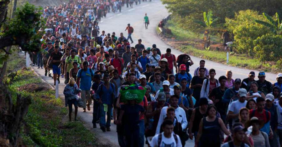 Acuerdan Guatemala y la ONU un protocolo por la caravana de migrantes hondureños
