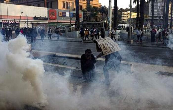 Realizan en Chile otra jornada de protestas contra el Gobierno de Sebastián Piñera