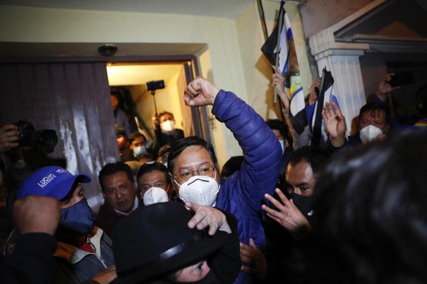 Conteo oficial en Bolivia confirma que Arce alcanzó la mayoría