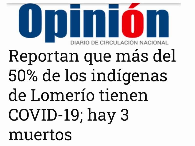Evo Morales pide ayuda para los indígenas contagiados por la COVID-19