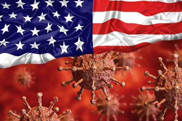 Reporta Estados Unidos cifra récord de contagios por coronavirus en el país