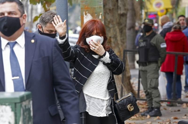 Cristina Fernández en el centro del espionaje de Macri