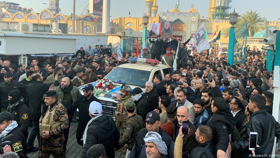 Despiden millones de iraquíes al general Qassem Soleimani en su ciudad natal
