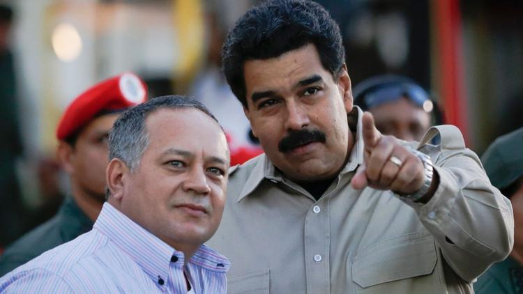 """Nicolás Maduro: """"Venezuela está contigo, Diosdado"""""""