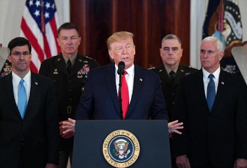 Cámara de representantes de Estados Unidos votará para limitar poderes de Trump en guerra contra Irán