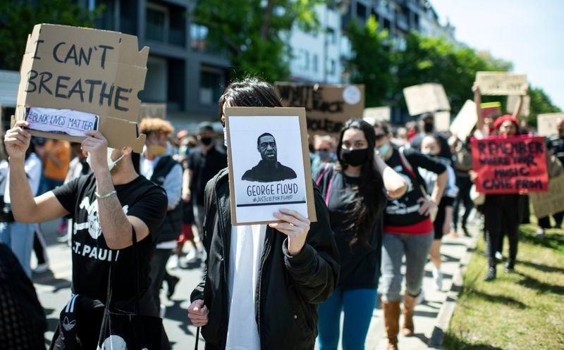Manifestaciones por asesinato de afroestadounidense George Floyd