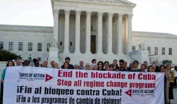 Exige la Red de Solidaridad con Cuba en EEUU el cese del bloqueo