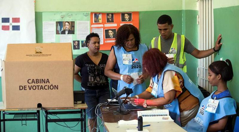 República Dominicana- Las autoridades anunciaron que la mitad de las máquinas no funcionaban